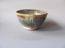 Stoneware, layered glazes
