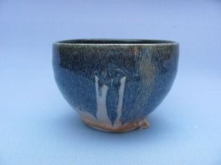 Cone six porcelain bowl, available at The Churnery