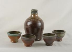 Wood/salt fired stoneware
