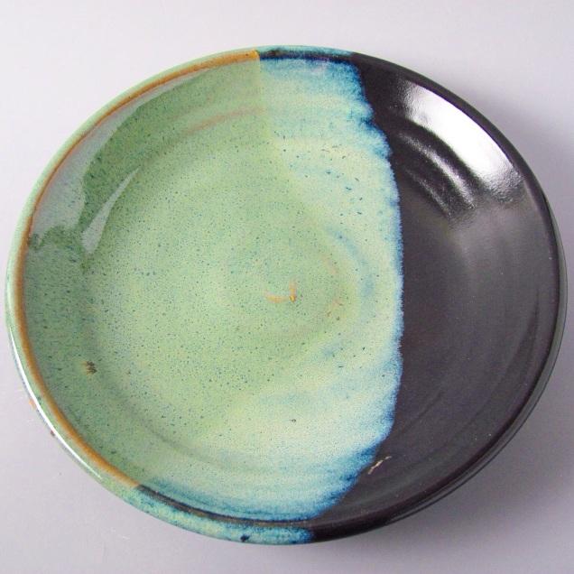 Cone 6 stoneware plate, 50