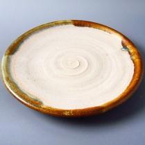 Cone 6 stoneware, small plate