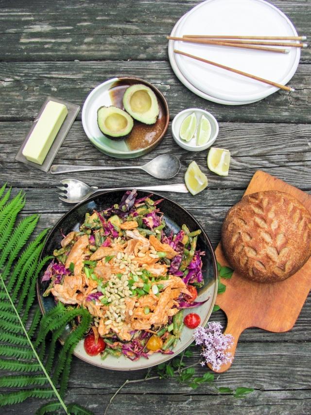 Mapo Tofu and Korean Chicken Salad | deb's pots